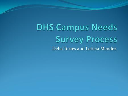 Delia Torres and Leticia Mendez. Process 1 Looked at gaps and key areas of concern  Content Area Connections  Frequency/Design of Instructional Setting.