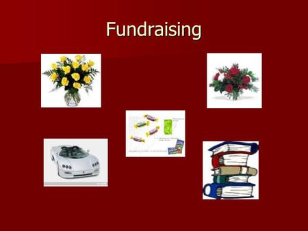 Fundraising. Flowers Car Wash Candy Sale Patron Book.