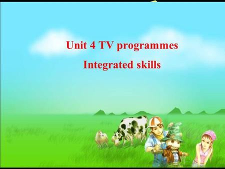 Unit 4 TV programmes Integrated skills. Language Focus Words: art dislike habit Phrases and Sentences: art club; drama club; a member of; rather sad;