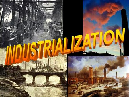 BRITAIN'S INDUSTRY In about 1790 the United Kingdom experienced the first industrial revolution. (large coal and iron ore deposits) Began with James Watt's.