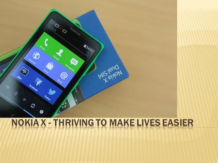 Launched earlier this year, Nokia X is special in its own way. It is in fact the first android phone launched by the company and Nokia Price in India.