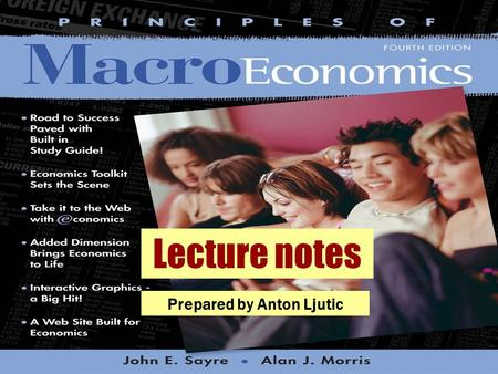 Lecture notes Prepared by Anton Ljutic. © 2004 McGraw–Hill Ryerson Limited Exchange Rates and the Balance of Payments CHAPTER TEN.