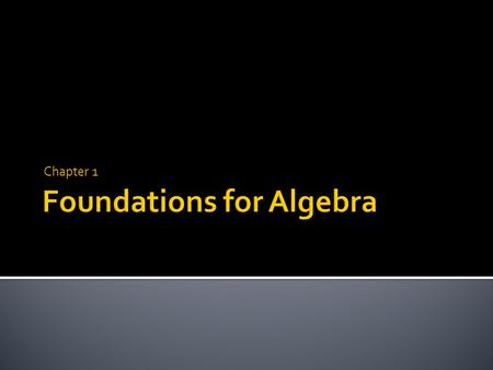 Chapter 1.  Pg. 4-9  Obj: Learn how to write algebraic expressions.  Content Standard: A.SSE.1.a.