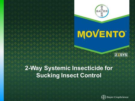 2-Way Systemic Insecticide for Sucking Insect Control.