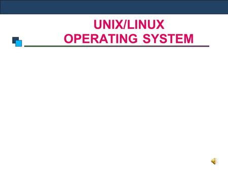introduction to windows and unix operating Ms-dos, windows and unix the operating system is a system software used for management of  introduction to processes in operating system early.