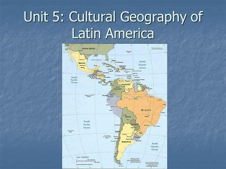 Unit 5: Cultural Geography of Latin America. 2009 Population – 568,000,000 2009 Population – 568,000,000 White/Caucasian 36.1% White/Caucasian 36.1% Mestizo.