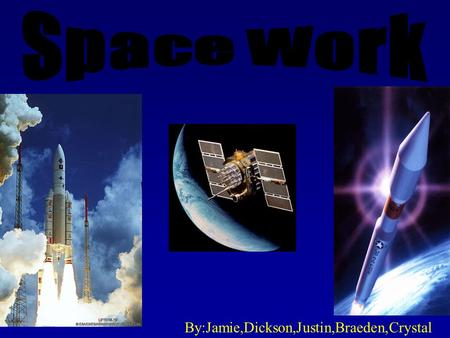 By:Jamie,Dickson,Justin,Braeden,Crystal. 1. What are the main differences between the space shuttle and the space station? The space shuttle is designed.