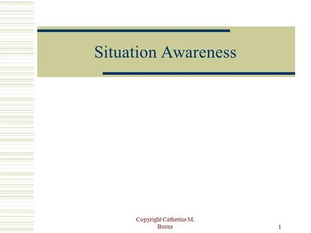 situational awareness essays