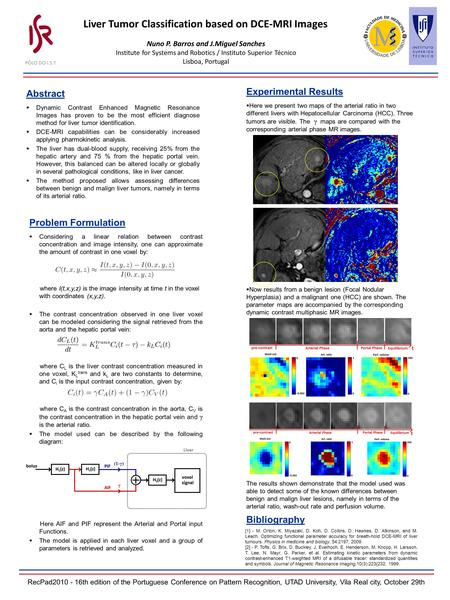 Abstract  Dynamic Contrast Enhanced Magnetic Resonance Images has proven to be the most efficient diagnose method for liver tumor identification.  DCE-MRI.