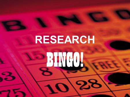 RESEARCH BINGO!. Compared to teachers in a flexible block schedule, teachers in a traditional, fixed-period schedule are more likely to implement a variety.