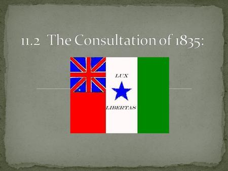 The first Consultation began as the delegates elected Branch T. Archer as the president of the convention. Some argued that Texas should declare its independence.
