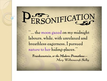 What is personification? Personification in poetry shows inanimate objects, animals, or ideas, (non living) taking on human characteristics. Hey diddle,
