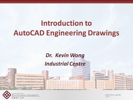 Introduction to AutoCAD Engineering Drawings