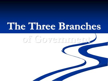 "The Three Branches of Government. The Articles of Confederation After winning the American Revolution, colonists set up a ""confederation"", or loose union,"