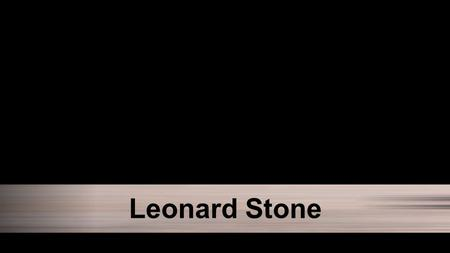 "Leonard Stone. Pressing the Fast Forward Button Luke 15:14-15 NLT ""About the time when his money was gone a great famine swept over the land, and he."