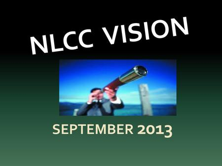 NLCC VISION SEPTEMBER 2013. Introduction. We are newly underway as a church - we are heading out of the harbour, we are under sail, but where are we heading?