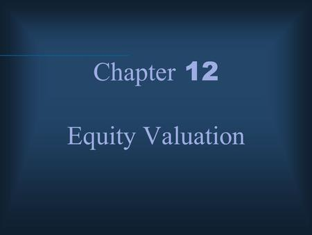equity valuation models Stock market briefing: valuation models yardeni research, inc september 20, 2018 dr edward yardeni 516-972-7683 eyardeni@yardenicom joe abbott 732-497-5306.