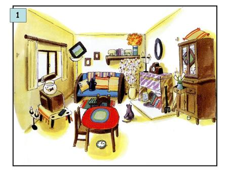 1. Picture Description – Dorit Be'eri Topic: Living Room Objectives and Enabling Skills: Pupils describe the picture using adjectives, prepositions and.
