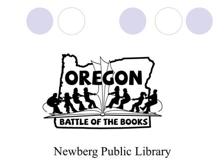 Newberg Public Library. About OBOB Encourage and recognize students who enjoy reading, to broaden reading interests, to increase reading comprehension,