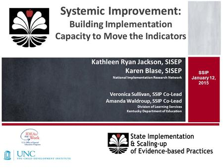 Systemic Improvement: