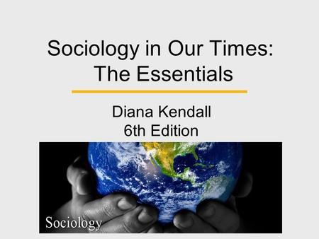 Essentials of Sociology: A Down-to-Earth Approach Henslin 9th Edition Ships Free