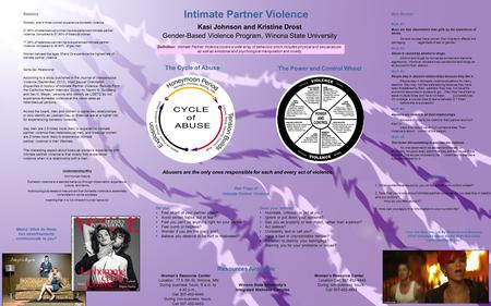 Statistics Globally, one in three women experience domestic violence. 21.60% of heterosexual women have experienced intimate partner violence, compared.