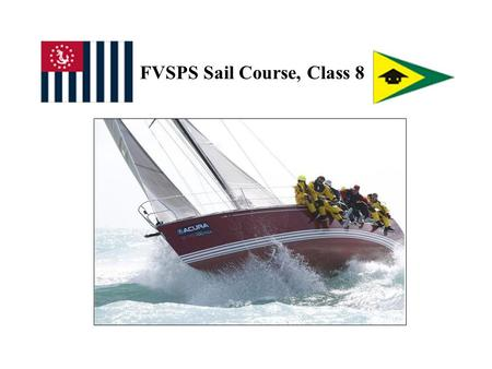 FVSPS Sail Course, Class 8. What Are We Doing In-Class Today? Prior OTW, Discuss Questions, Sail Book, Sec. 19-22 Exam Review EXAM Go Aloft Opportunity,