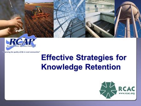 Effective Strategies for Knowledge Retention. Name Tent Introductions State one or two burning questions you hope will be answered in this session Introductions.
