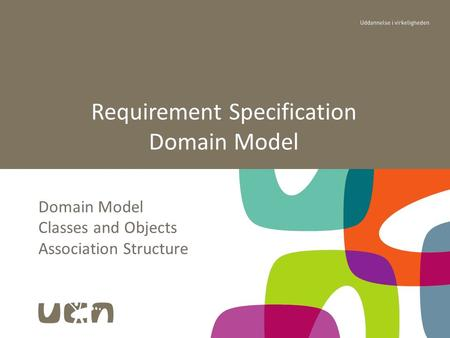 Domain Model Classes and Objects Association Structure Requirement Specification Domain Model.