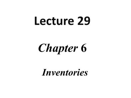 chapter 1 inventory and billing Chapter 1 users of accounting information  journal entries to record inventory transactions under a perpetual inventory system.
