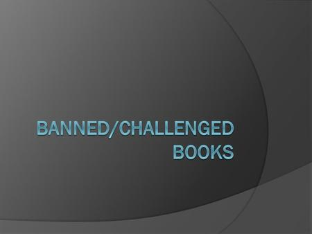 What's the difference between a challenge and a banning?