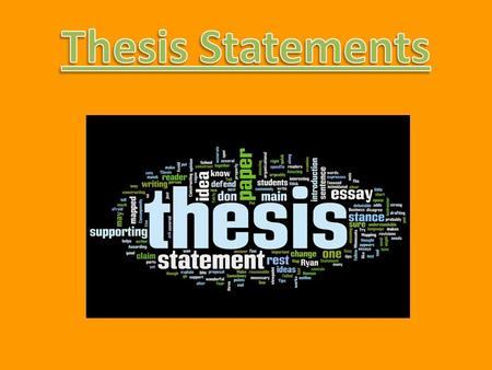 Thesis Statements Nonfiction compositions, such as research papers, begin by telling readers what they will encounter in the text. An introduction to.