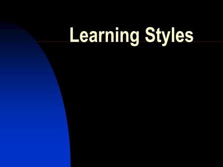Learning Styles. Learning by Reflecting In touch with emotional content in learning. Thrive in Humanities classes  Learning by observing rather than.