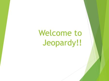 Welcome to Jeopardy!!. What is this whole structure?  Fill in!