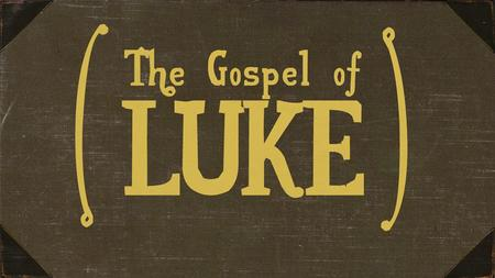 Last week's message: Not silent anymore: The announcement of John the Baptist! Luke 1:5-25.