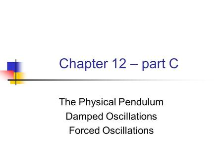 the oscillations pendulum system The angular frequency of oscillation calculate the natural frequency of vibration for the system shown in the figure find the natural frequency of vibration for a pendulum, shown in the figure.