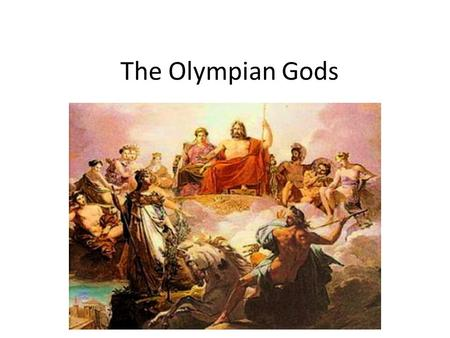 The Olympian Gods. Aphrodite Aphrodite governs desire, love, and sexuality. She is also known as Venus (Roman). She is often pictured with a sceptre or.