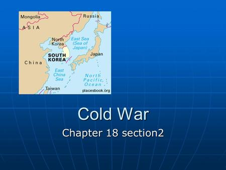 Cold War Chapter 18 section2 China 1945 1945 Northern China under Communist controlNorthern China under Communist control After WWII --- Nationalists.