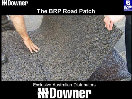 The BRP Road Patch Exclusive Australian Distributors.