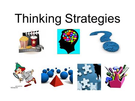 Thinking Strategies. Create Sensory Images Good readers create a wide range of visual, auditory, and other sensory images as they read, and become emotionally.