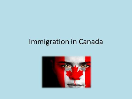 Immigration in Canada. Multiculturalism Immigrants or descendants of immigrants make up 98% of Canadians. Canada is a multicultural society.