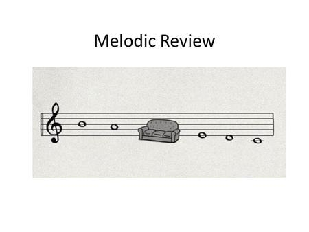 Melodic Review.
