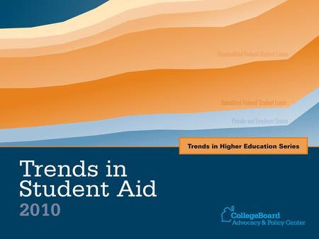 Ten-Year Trend in Student Aid and Nonfederal Loans per FTE Used to Finance Postsecondary Education Expenses in Constant 2009 Dollars, 1999-2000 to 2009-10.