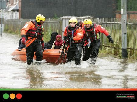 Main Heading Sub Heading/Body Copy. People Every Firefighter in the West Midlands Fire Service receives basic water awareness training. In addition to.