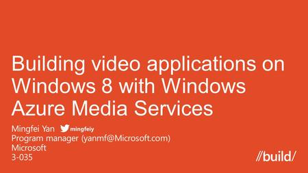  What is Windows Azure Media Services  Architecture and Features  SDK and REST API.
