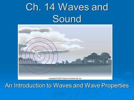 An Introduction to Waves and Wave Properties