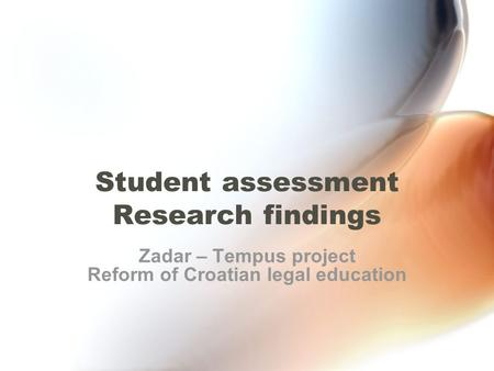 legal research assessment The legal research and writing program (lrw) offers required and elective  courses  the course will include peer assessment, self-editing, small group and .