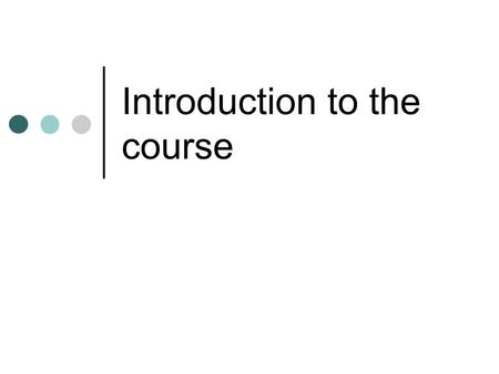 Introduction to the course. Key information OCR National in ICT at Level 2 There are no exams It is a vocational course.