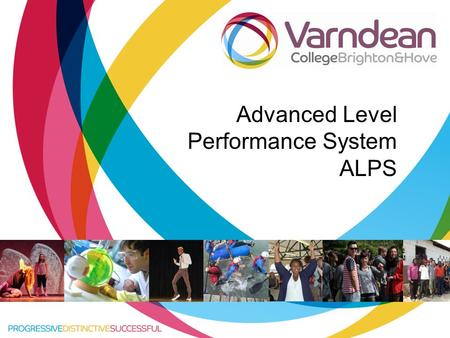 Title of presentation goes in here Advanced Level Performance System ALPS.