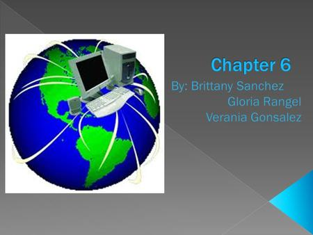  Chapter 6 Overview Lesson 6–1 Creating a Document Lesson 6–2 Editing Document Lesson 6–3 Formatting a Document Chapter Review and Assessment Chapter.